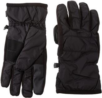 Isotoner Men's Smartouch Sleekheat Smartdri Soft Nylon Glove