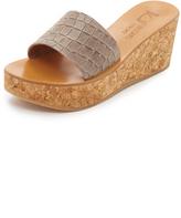 K. Jacques Kirielle Wedge Sandals