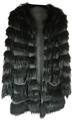 Bally Black Fox Jacket for Women