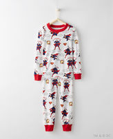 Hanna Andersson Justice League SUPERMANTM Long John Pajamas In Organic Cotton