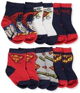 Superman Baby Boys' 6-Pack Crew Socks