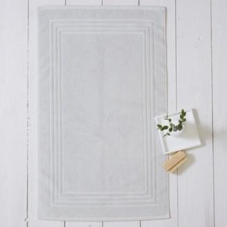 The White Company Egyptian Bath Mat, Platinum, Medium