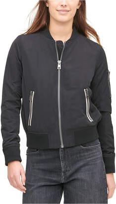 Levi's Women Zip-Detail Bomber Jacket