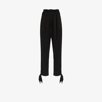 Reformation Avalon paper bag waist trousers