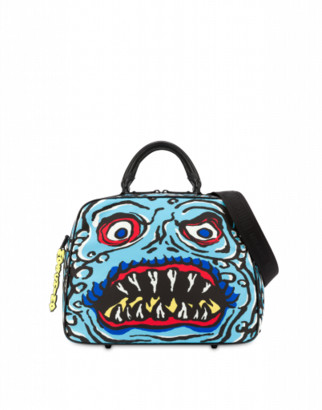 Moschino Monster Hand Bag Man Blue Size U It - (one Size Us)