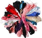 Cotton Whisper Womens Wide Varity of G-string Thongs T-back Underwear (25 Pcs) S
