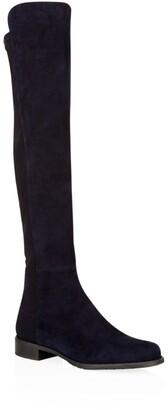 Stuart Weitzman Suede 5050 Over-The-Knee Boots