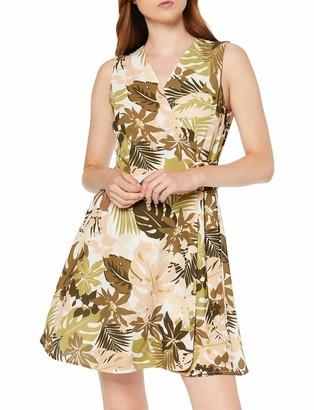 Koton Women's Wrap Dress With Floral Pattern Party Dress