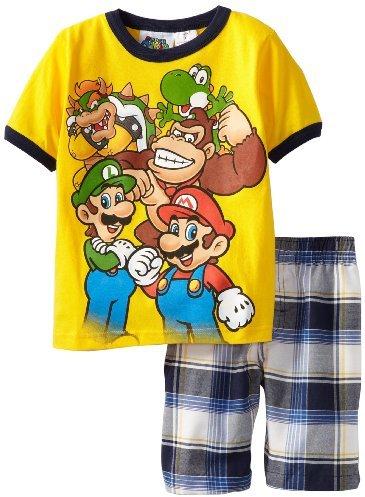 Nintendo Boys 2-7 Mario Gang 2 Piece ...