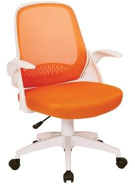 Ebern Designs Fordville Mesh Task Chair Upholstery Color: Orange