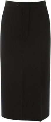 Maison Margiela High-Waisted Midi Skirt