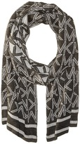 MICHAEL Michael Kors Muffler with Metallic Logo Scarves
