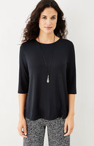 J. Jill Wearever Split-Hem Top