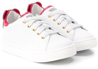 MOSCHINO BAMBINO Low Top Teddy Sneakers
