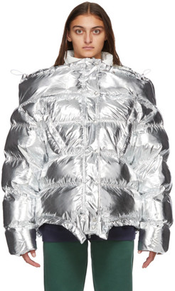 Vetements Silver Upside Down Jacket