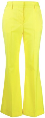 MSGM Low-Rise Flared Trousers