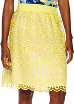 Liz Claiborne Pull-On Lace Skirt