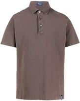Drumohr plain short-sleeved polo shirt