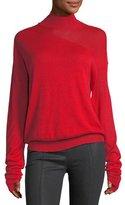 Helmut Lang Turtleneck Wool-Silk Sweater