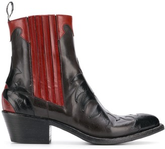 Sartore ankle cowboy boots