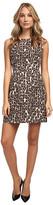 Kate Spade Autumn Leopard Domino Dress