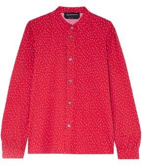 Vanessa Seward Bamboo Printed Cotton Shirt