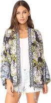 Free People Wildflower Cinched Kimono