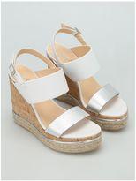 Hogan H324 Wedge Sandals