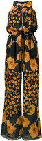 Paul Smith floral print zipped jumpsuit - women - Silk - 42