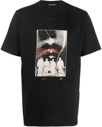 Neil Barrett Subway photographic print T-shirt