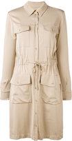 Moschino button up shirt dress - women - Rayon/other fibers - 40
