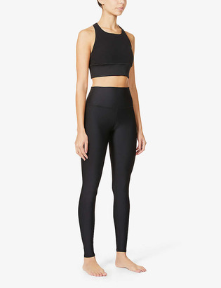 Alo Yoga Airlift high-rise stretch-knitted leggings