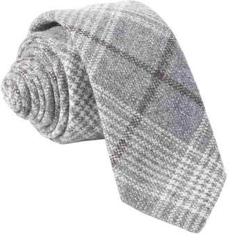 Tie Bar Barberis Wool Freddo Grey Tie