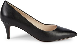 Cole Haan Harlow Point Toe Leather Pumps