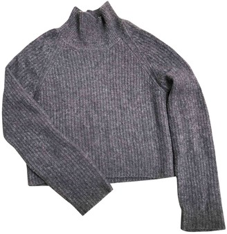 Calvin Klein Collection Grey Cashmere Knitwear for Women