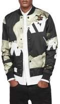 G Star Printed Bomber Jacket
