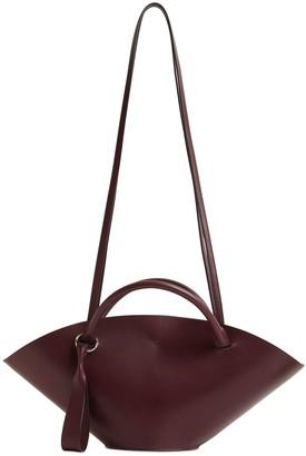 Jil Sander Small Sombrero Leather Bucket Bag