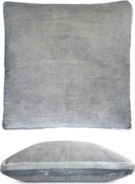 Kevin OBrien Kevin O'Brien Studio Double Tuxedo Linen Throw Pillow Kevin O'Brien Studio Color: Seaglass