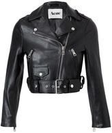'Mape' leather motorcycle jacket