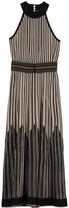 D-Exterior D.Exterior Lurex Knitted Long Dress