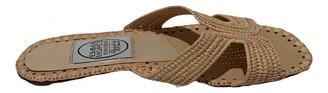 Emma Hope Camel Leather Sandals