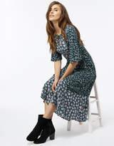 Monsoon Lena Print Midi Dress