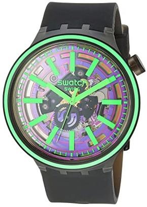 Swatch Pink Taste - SO27B113 (Black) Watches