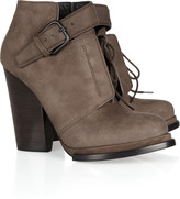 Alexander Wang Luca nubuck leather ankle boots