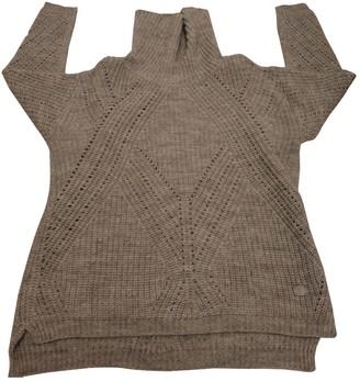 Trussardi Jeans Grey Wool Knitwear for Women
