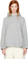 MM6 MAISON MARGIELA Grey Cut-out Side Hoodie