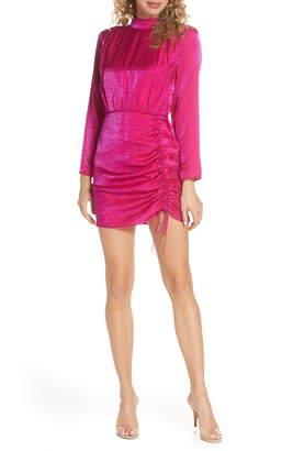 Finders Keepers Yasmine Long Sleeve Minidress