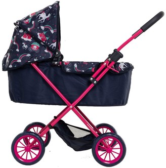 Unicorn Junior Pram & Bag