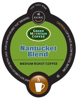 VueTM 16-Count Green Mountain Coffee® Nantucket Blend® Coffee for Keurig® Brewers