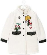 Ermanno Scervino embroidered coat